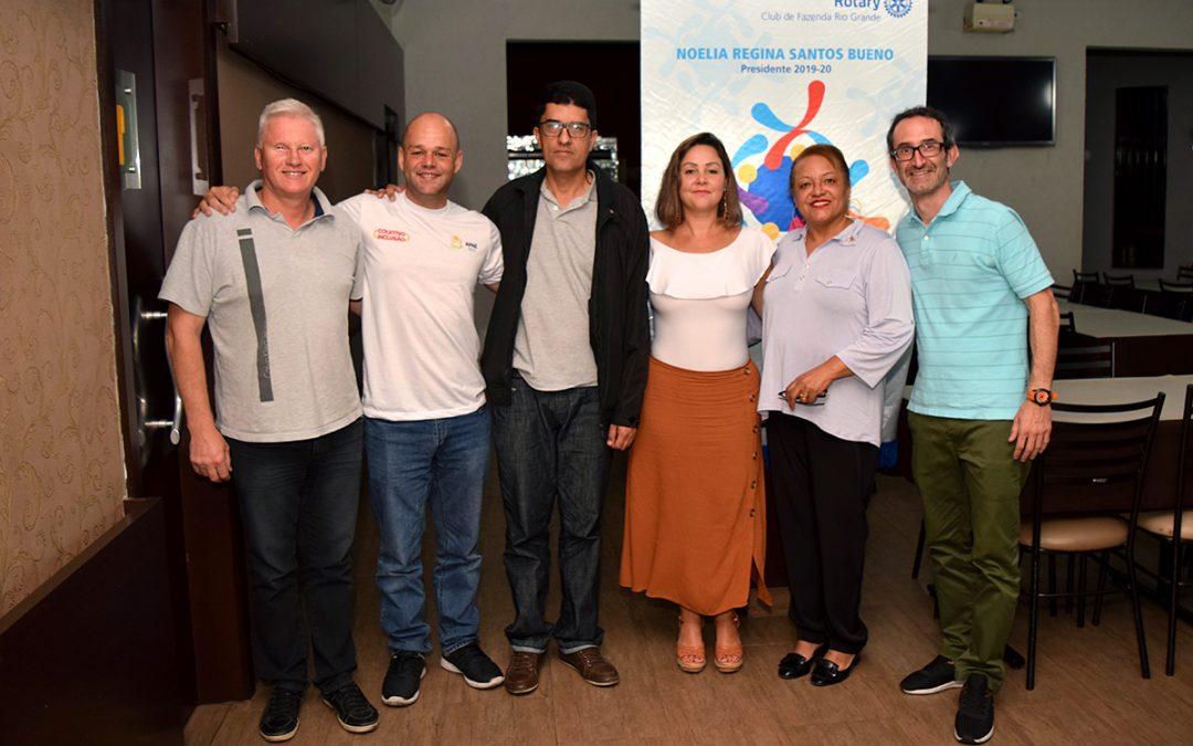 Coletivo Inclusão se reúne com Rotary Club de Fazenda Rio Grande